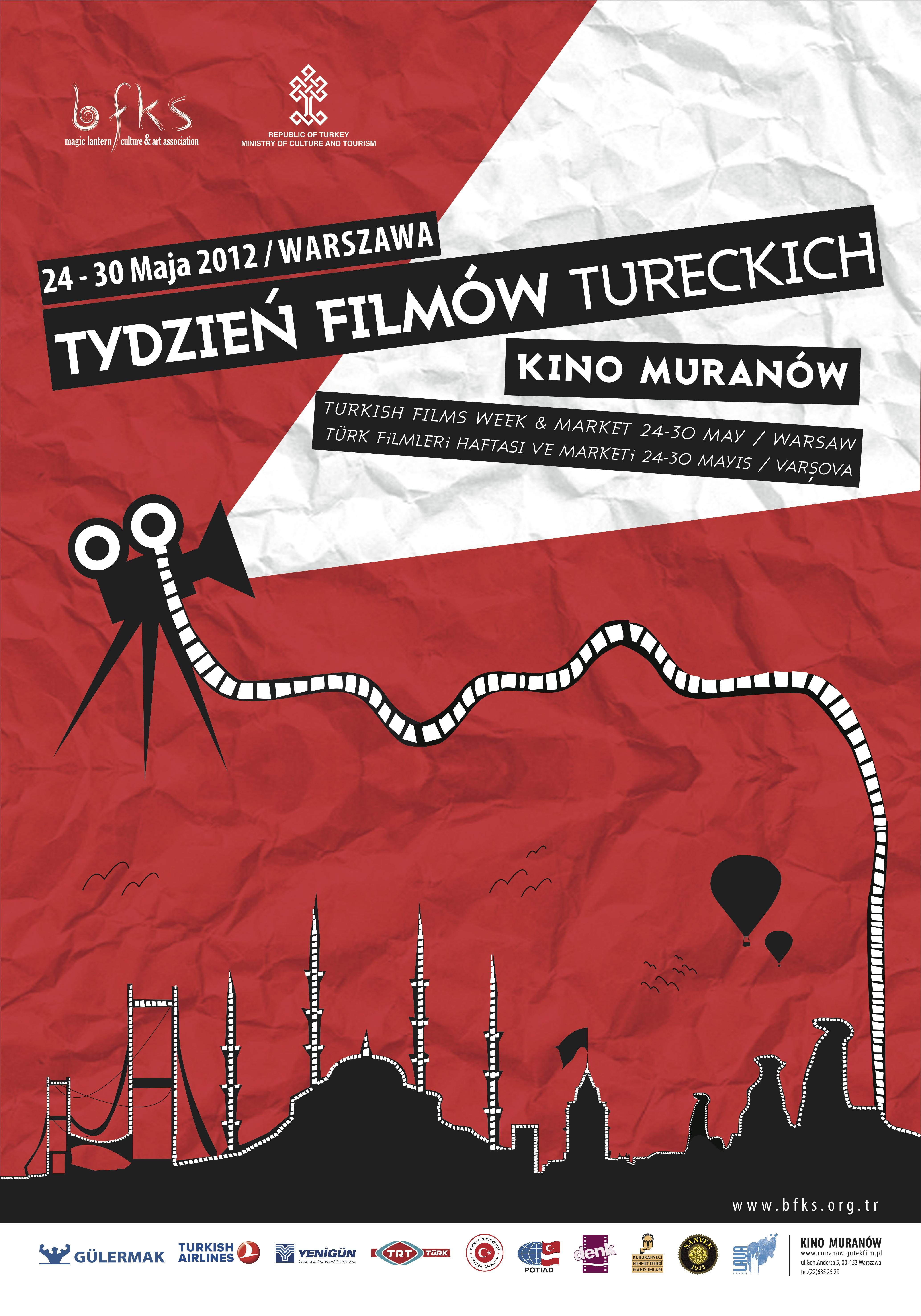 Varşova Türk Filmleri Haftası ve Marketi başladı