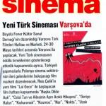 Yeni Türk Sineması Varşova'da - Sinema, Mayıs 2012
